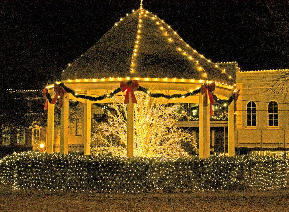 canton christmas lights