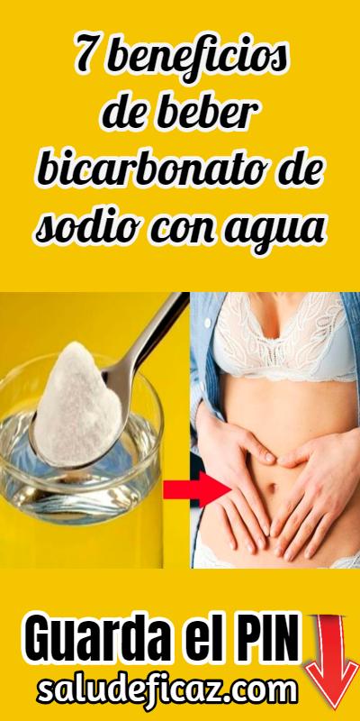 7 Beneficios De Consumir Bicarbonato De Sodio Con Agua Helthy Food Healthy Drinks Diet Plan
