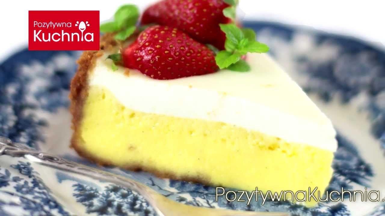 Sernik Nowojorski New York Cheesecake Pozytywnakuchnia Pl Cheesecake Desserts Food