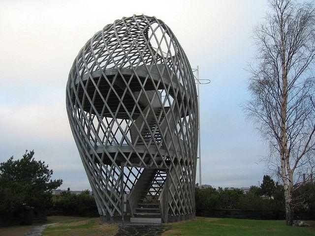 Lookout Tower in Korkeasaari Zoo  Kupla (Bubble) / Ville Hara