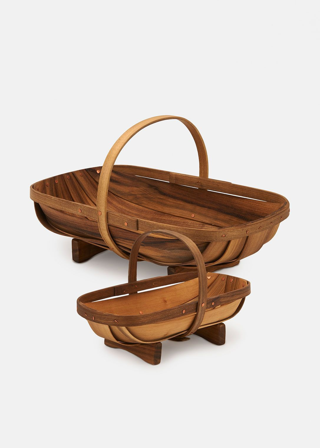 Handcrafted Trug Garden Basket | Rodale\'s | Gifts for the Gardener ...