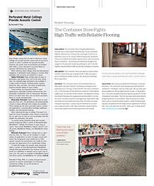 The Container Store Fights High Traffic With Reliable Flooring, #Takiron  #Pathways #Flooring