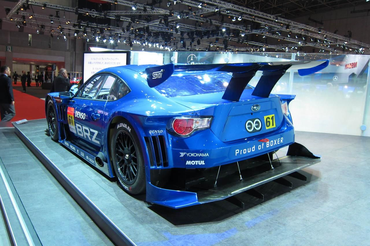 Subaru race car