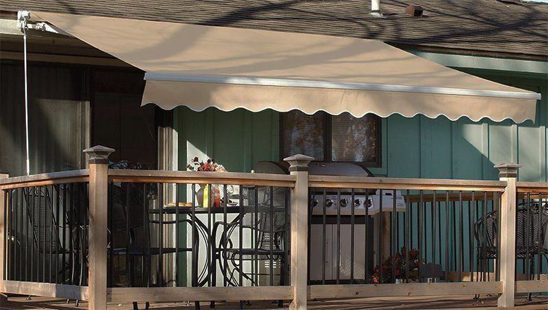 10 X 8 12 X 10 8 X6 Patio Awning Retractable Motorized Or Manual Tan Patio Awning Deck Awnings Patio