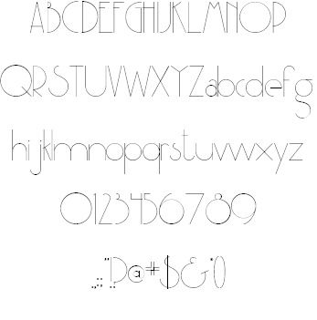 Party at Gatsby's font by tysmagic | FBS | Typography fonts