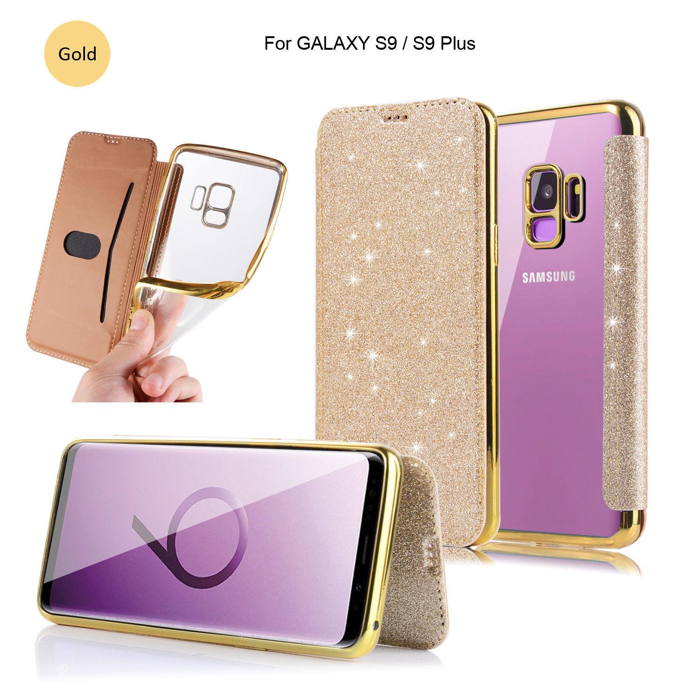 online store bd8ef a26de 3.99 GBP - Bling Glitter Sparkling Girl Leather Case Cover For ...