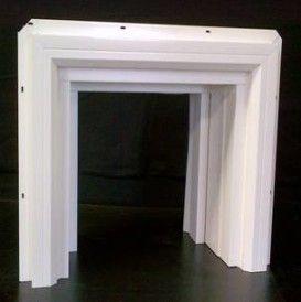 Beau Millcraft Square Vinyl Garage Door Frame