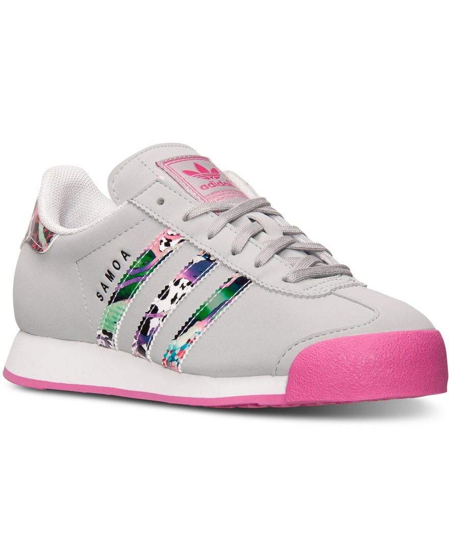 promo code 057d6 91083 adidas Big Girls  Samoa Casual Sneakers from Finish Line