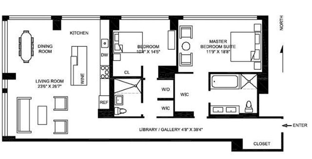 Used Car Floor Plan: Rent Or Buy? Running The Numbers On Five Soho Two-Bedrooms