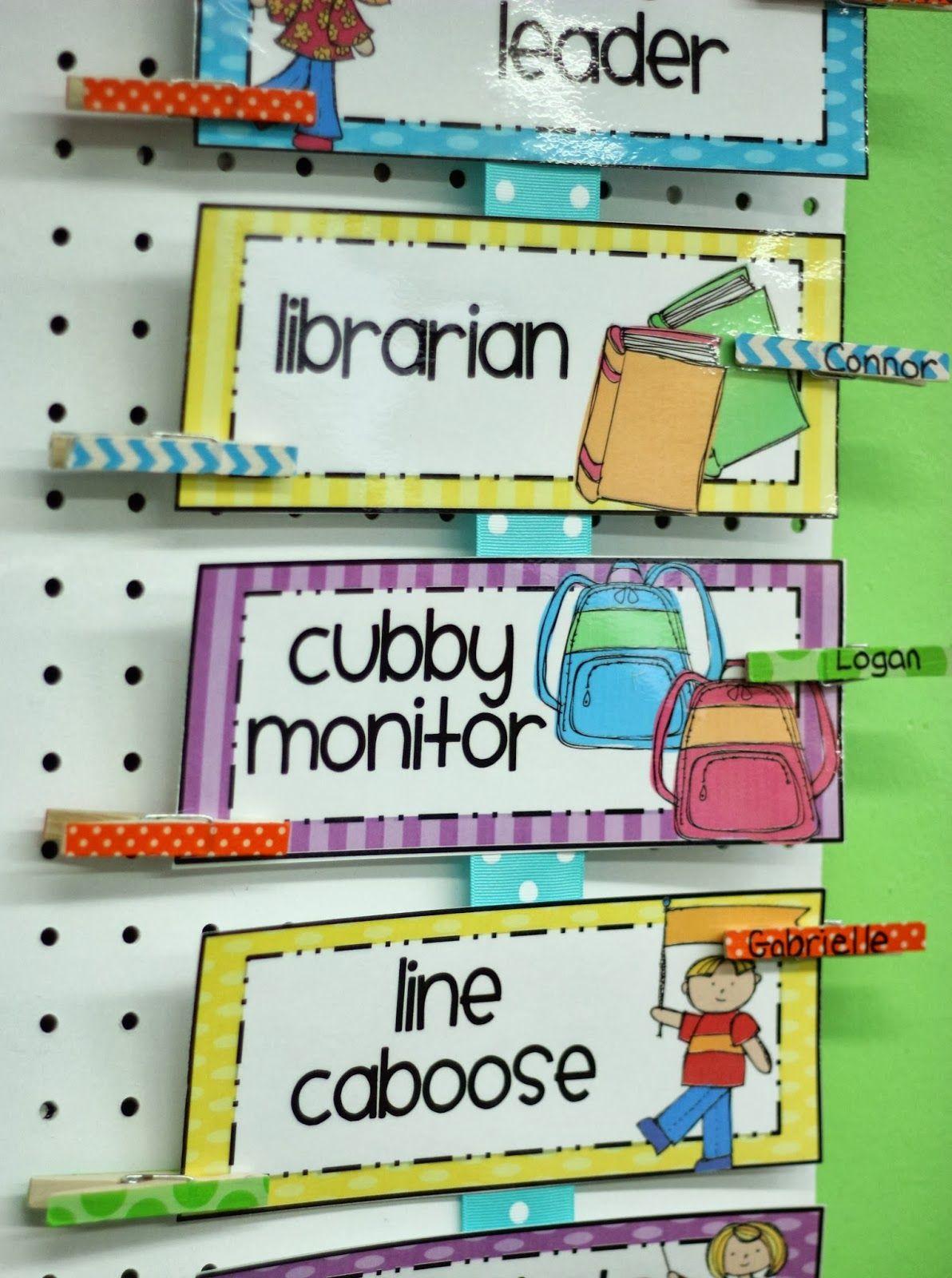 Differentiated Kindergarten S Classroom Helpers A