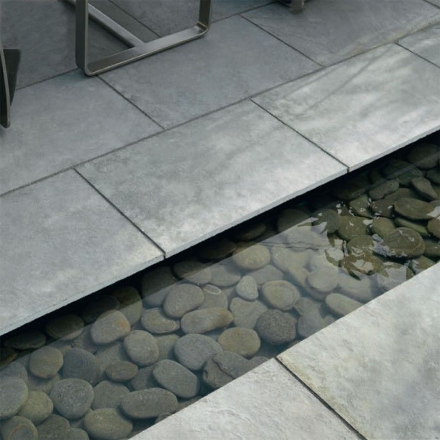 Patio Slabs And Designs: Stonemarket Paving-Limestone 'Dorian'-Grey-PAVING SLABS