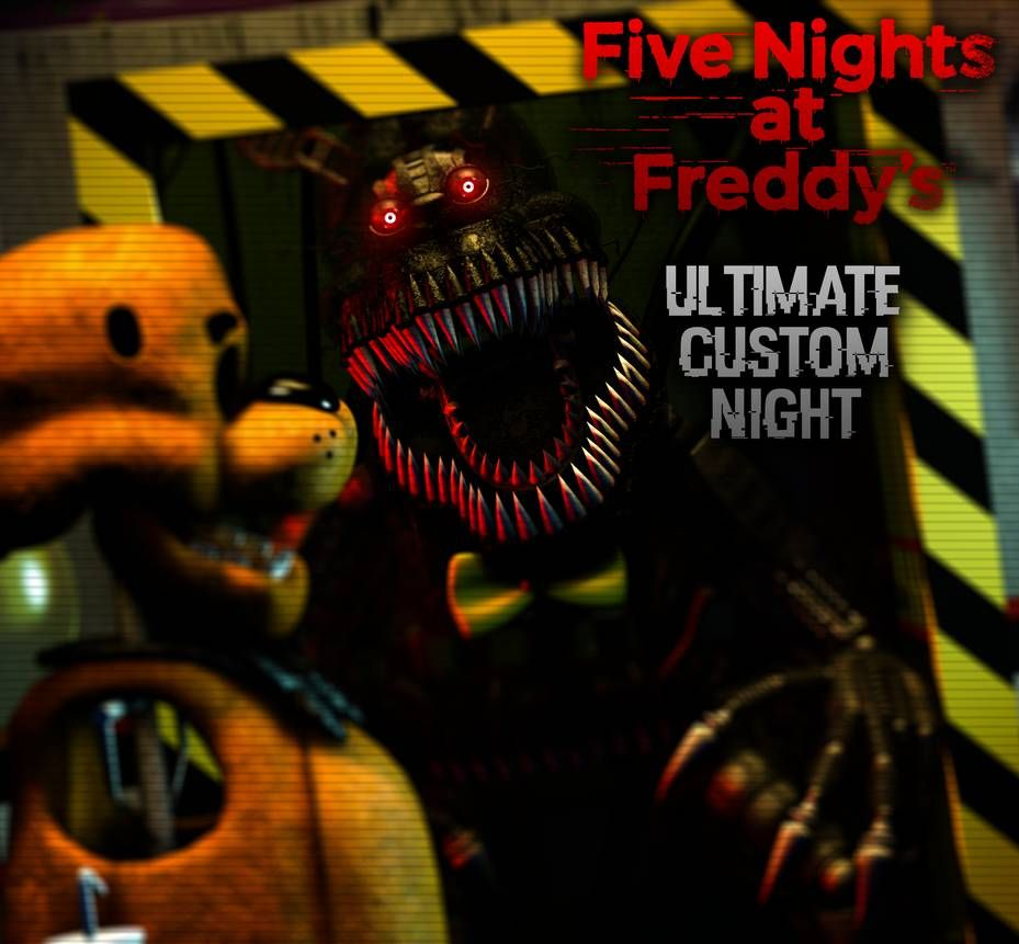 Ultimate Custom Night Nightmare By AftonProduction