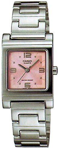 Casio General Ladies Watches Metal Fashion LTP-1237D-4ADF - WW. Quartz Movement. 30 Meters / 100 Feet / 3 ATM Water Resistant. 30mm Case Diameter. Mineral Crystal.