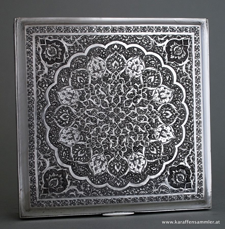 Esfahan Silver Box My 1St Persian Girlfriend In The 50S -1983