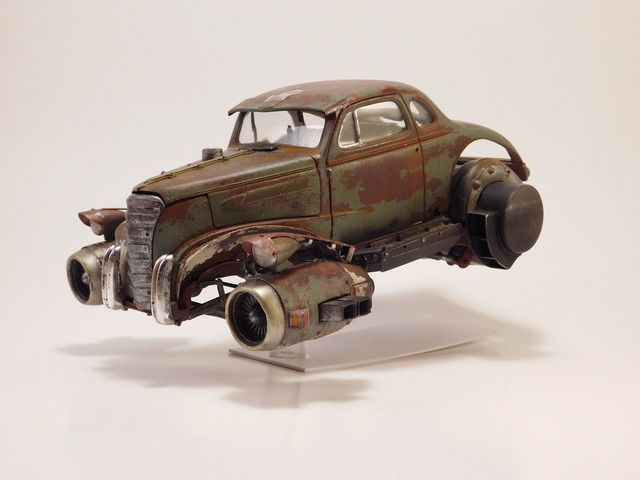 2037 Rat Rod Page 2 On The Workbench Model Cars Magazine