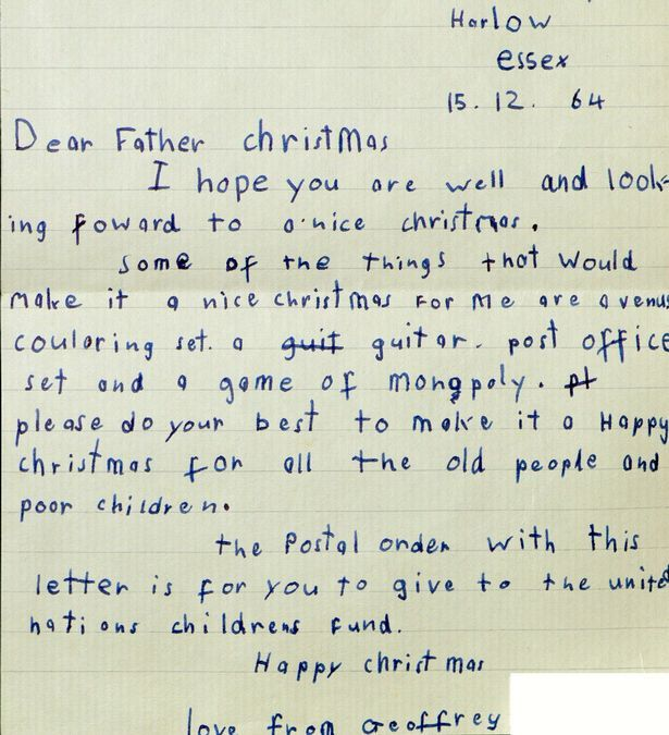 Why You Need To Send Your KidS Letter To Santa By This Date Or