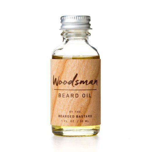 Woodsman Beard Oil by The Bearded Bastard (1 ounce)