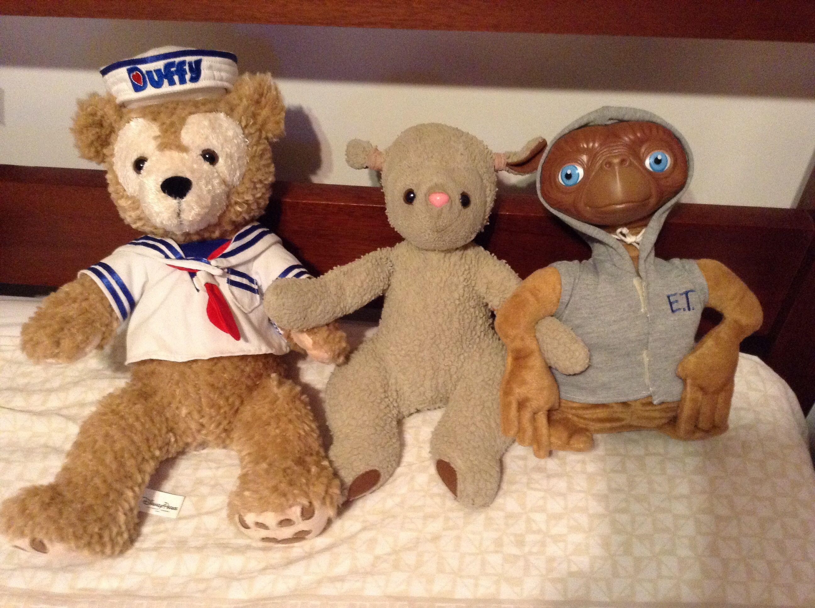 Duffy, Luca e ET
