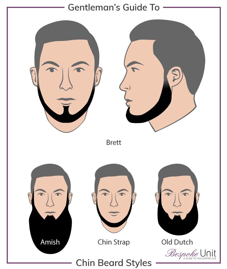 Chin beards best guide to trim old dutch amish