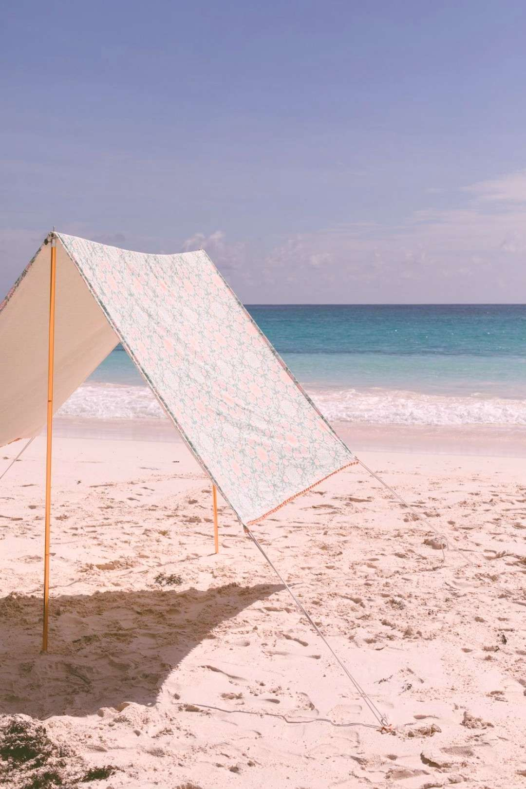 #umbrellas #throwing #mucbeach #shade #beach #today #gives #this #tent #are #diy #muc #we #on #so We are throwing shade on beach umbrellas today. This DIY beach tent give...