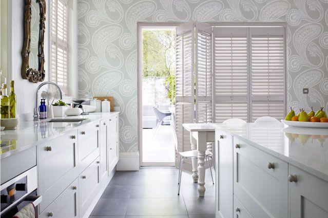 Kitchen Paper Pinterest decorating, Wallpaper and Kitchens - folie für badezimmerfenster