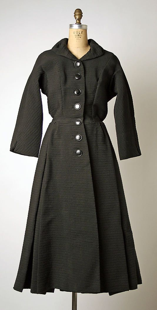Pierre Cardin Coat, 1951