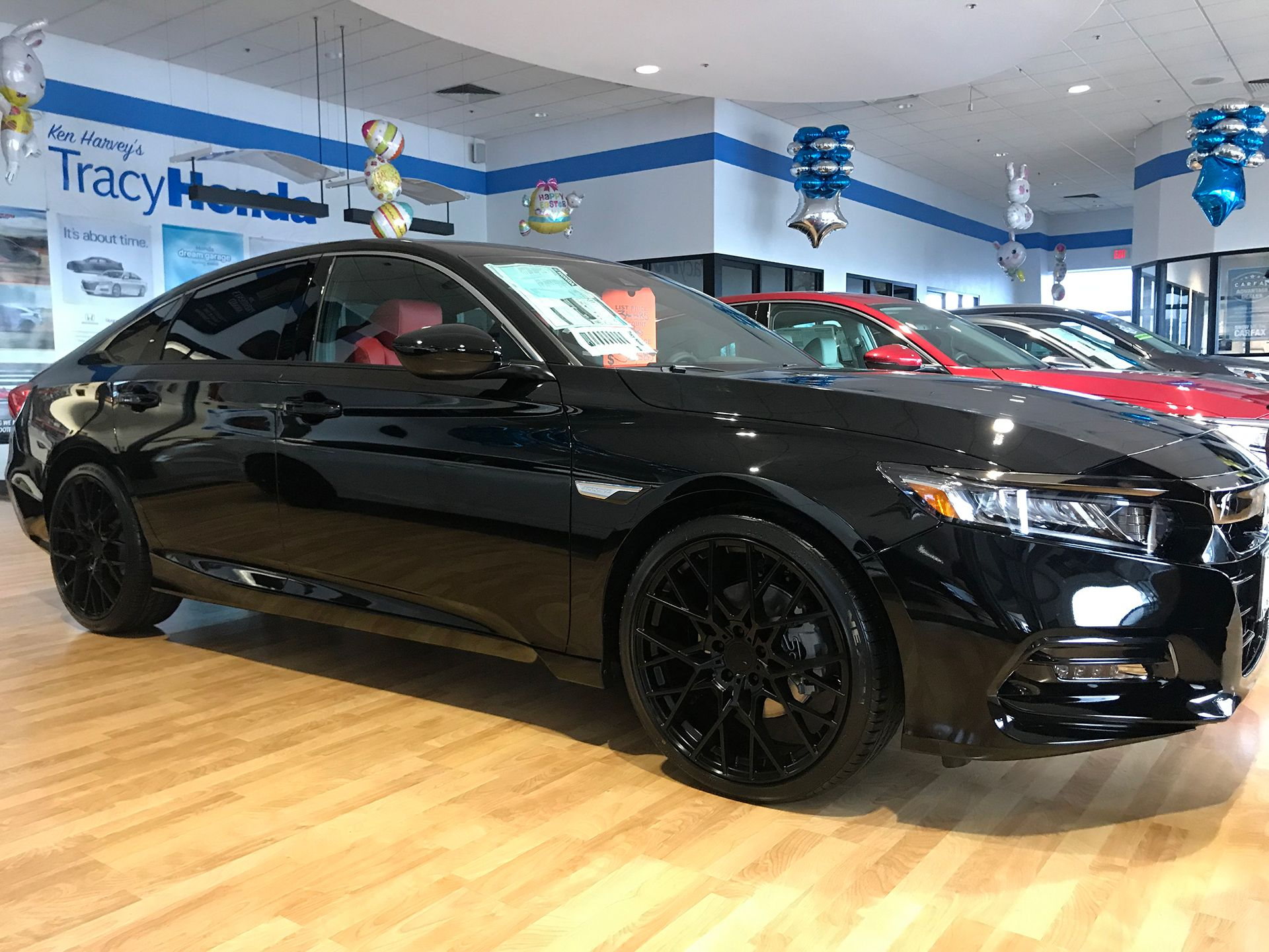 "2019 Honda Accord 20"" TSW Sebring gloss black mounted on"
