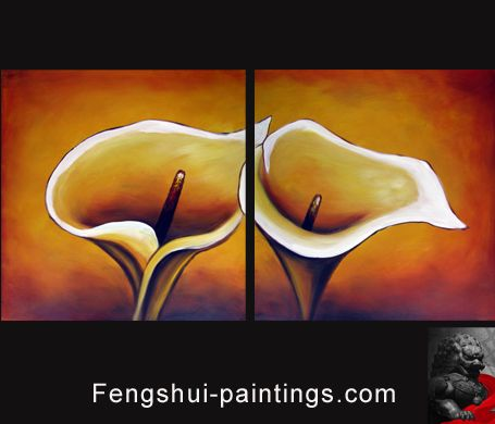 Cherry Blossom painting: brings Feng Shui Love luck and is ...