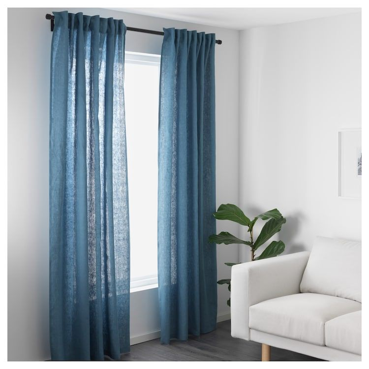 Us Furniture And Home Furnishings Blue Curtains Living Room Ikea Curtains Curtains With Blinds