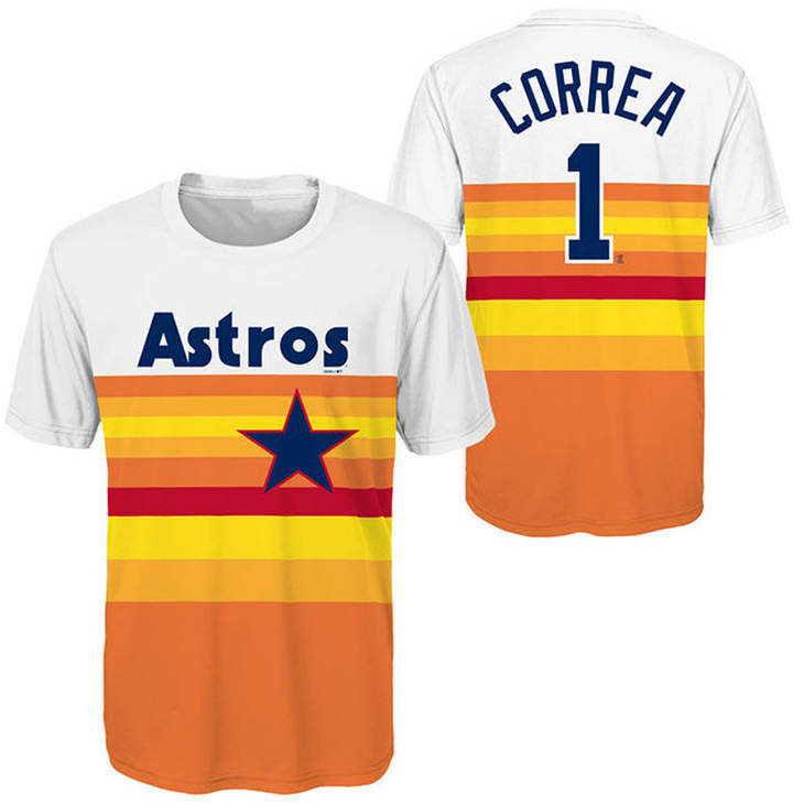 new concept 26a8d 7535c Outerstuff Carlos Correa Houston Astros Coop Poly Player T ...