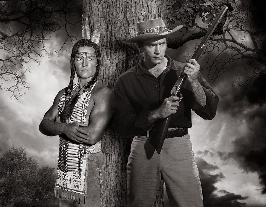 John Russell, Clint Walker  - Yellowstone Kelly  (1959) - Metek Artwork (2016)
