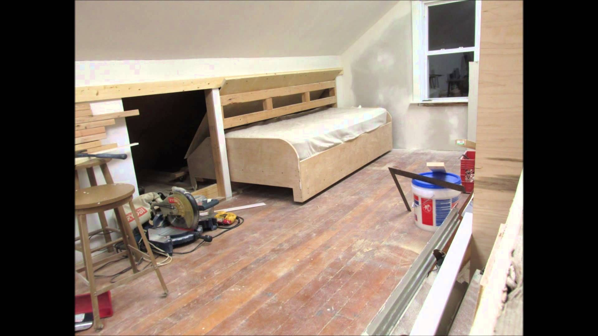 Image Result For Hidden Pull Out Knee Wall Bed In 2019
