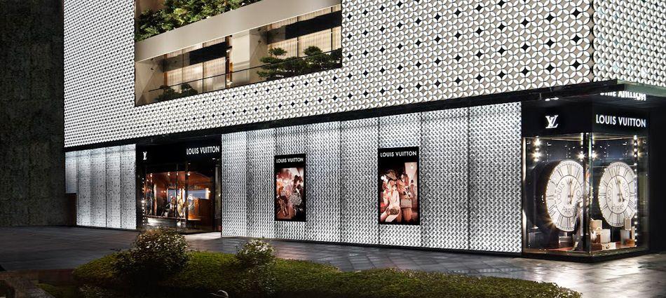 Fashion - Louis Vuitton Shangai Plaza 66 Maison | Living Room Ideas, Interior Design, Home Design, House Design