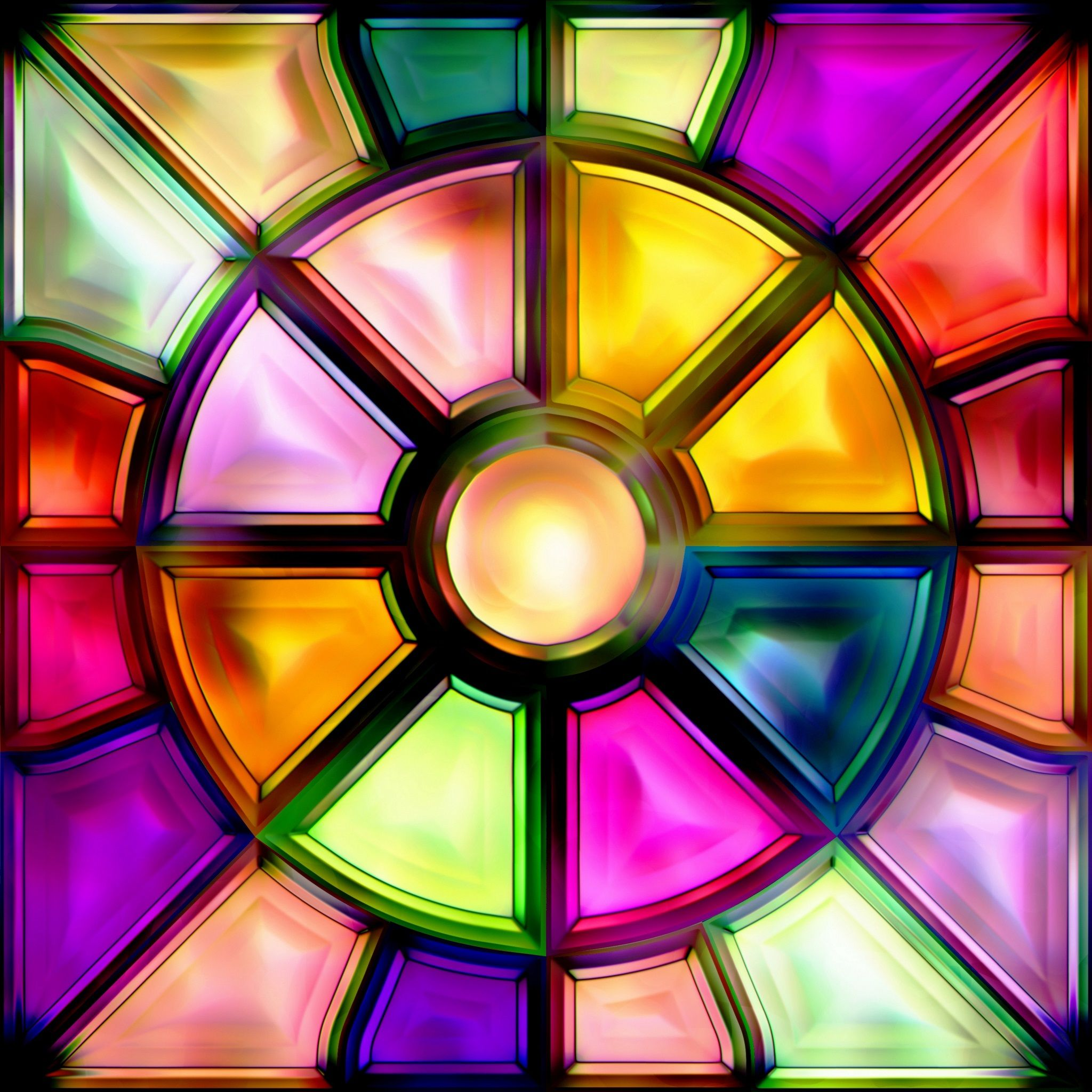 Colorful Stained Glass Tap To See More Beautiful Colorful Abstract Wallpapers Mobile9 Abstract Rainbow Wallpaper Abstract Wallpaper