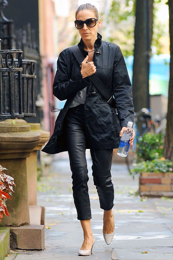 sarah jessica parker street style | Sarah Jessica Parker on the street in New York - celebrity fashion