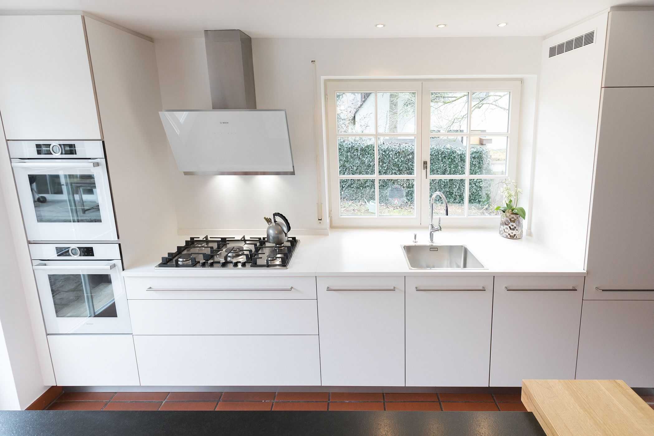Küche | Küchenplanung | Küche planen | Inspiration | weiß | schlicht ...