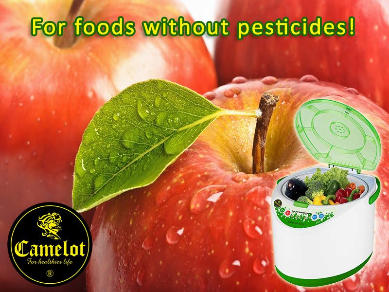 Save money and stay healthy with the fantastic Imperial Tech Food Washer Machine. This amazing new product removes pesticides, chemicals and bacteria from fresh fruit and vegetables using ordinary tap water.
