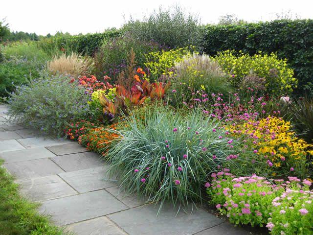 The Lloyd Border at White Flower Farm | Fine Gardening | Gardens ...