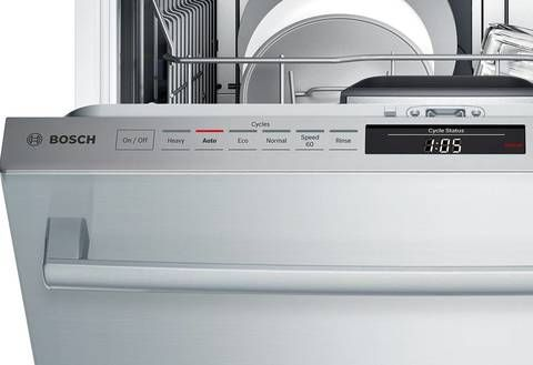 Bosch Myway Rack 800 40 Decibel Built In Dishwasher Pan Lowes Com Built In Dishwasher Bosch Dishwashers Dishwasher