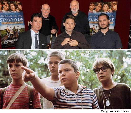 Stand By Me Movie Cast 25th Anniversary Stand By Me It Movie Cast Great Movies