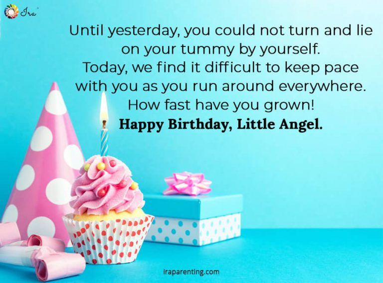 Birthday Wishes for Baby Girl in 2020 (With images