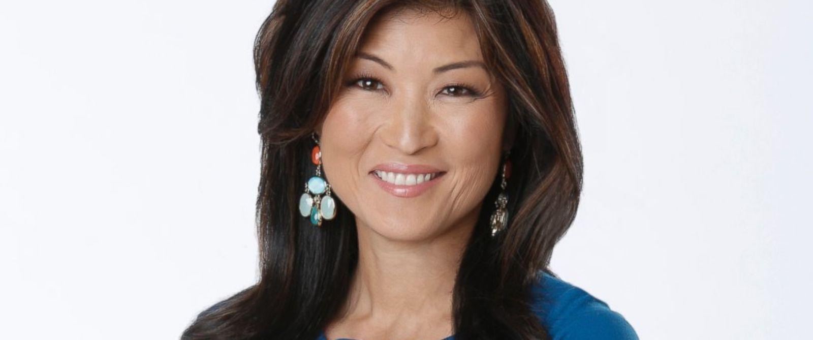 Asian news anchors