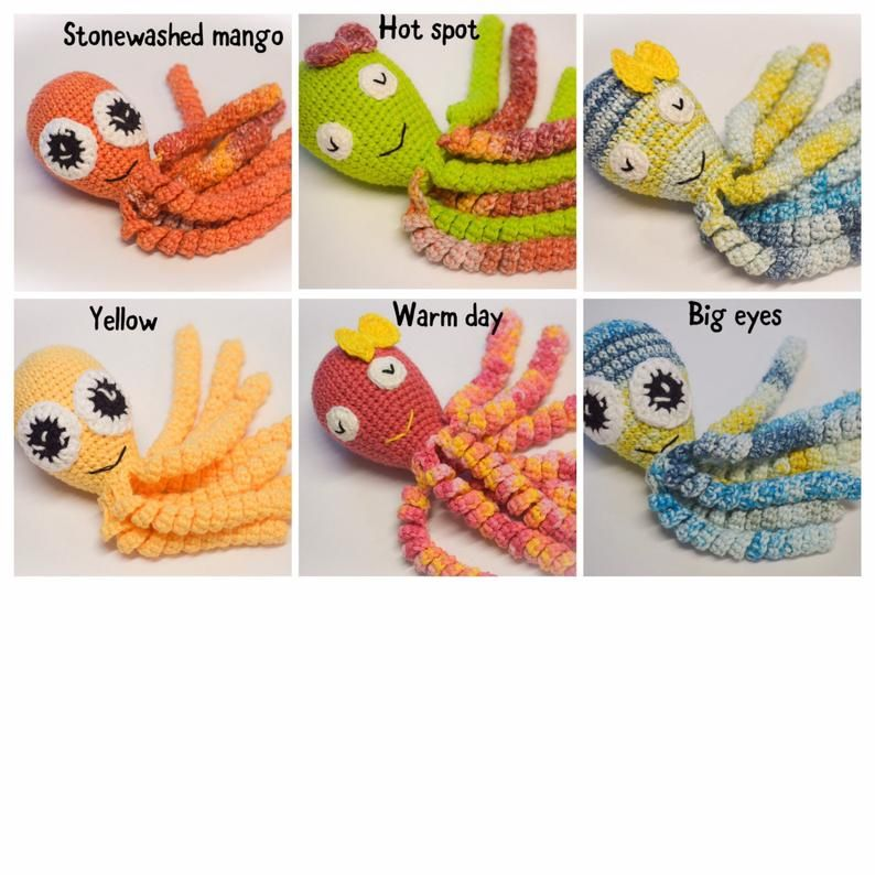 Preemie octopus / Crochet Octopus / Octopus for Preemie baby's / Crochet octopus for Preemie babies/ Octopus for premature baby/Baby gift