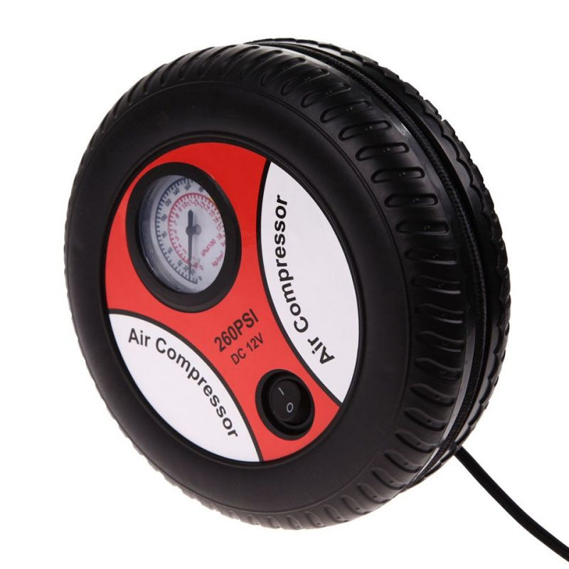 Check Price Cars Mini Inflatable Pump Electric Tyre Pressure