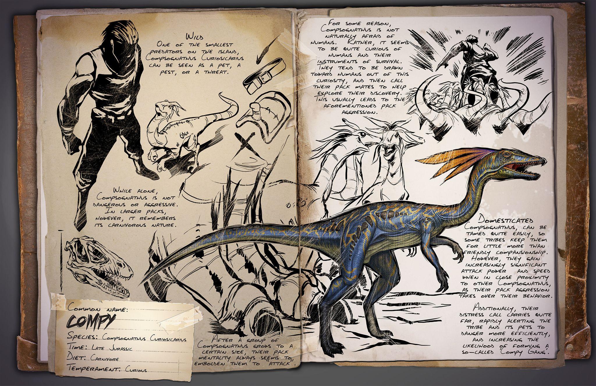 раздумываете, картинки досье динозавров из арк часто все сексом