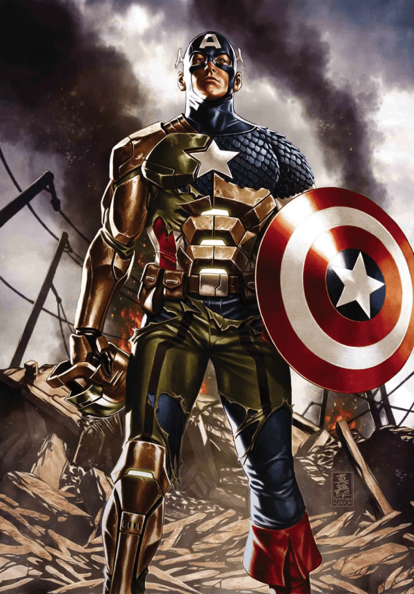 Full Marvel Comics Solicits For September 2017 And A Redemption For Captain America Captain America Comic Captain America Wallpaper Marvel
