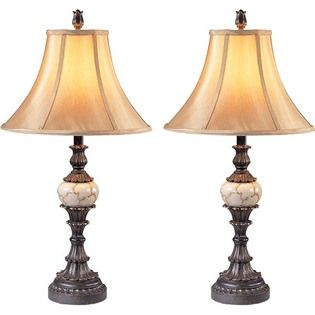 At Home By O Sevilla Traditional Table Lamps Set Of 2