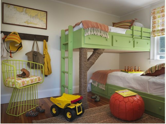 12 Cool Ideas For Shared Kids Rooms Kids Bedroom Designs Cool Bunk Beds Kids Bunk Beds