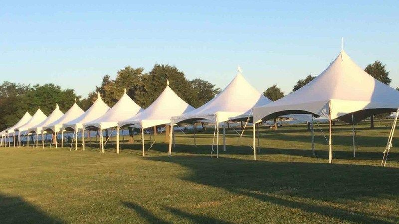It S Interesting To See Such A Long Line Of Tents My Sister Is