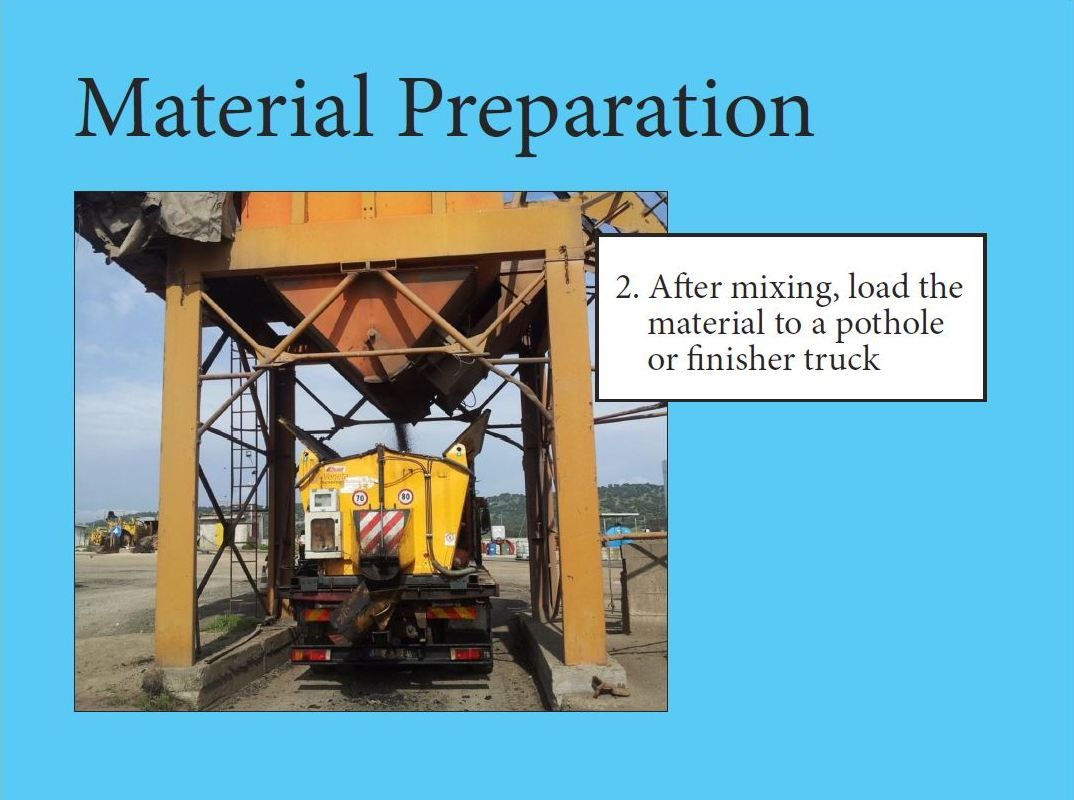 Material Preparation With Images Preparation Material Road Construction